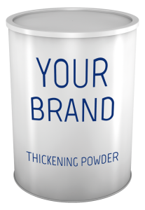 Thickening powder